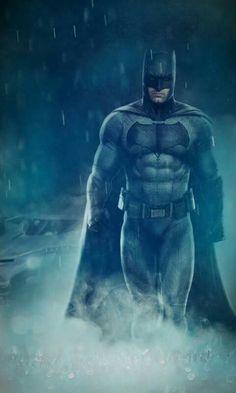 Ben Affleck in the new suit.