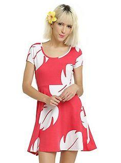 Disney Lilo & Stitch Lilo Hawaiian Dress, RED