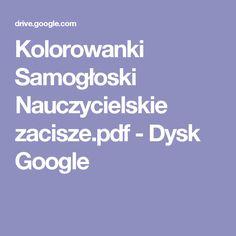 Kolorowanki Samogłoski Nauczycielskie zacisze.pdf - Dysk Google
