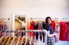Kendi Skeen of Kendi Everyday in her Dallas boutique, Bloom.