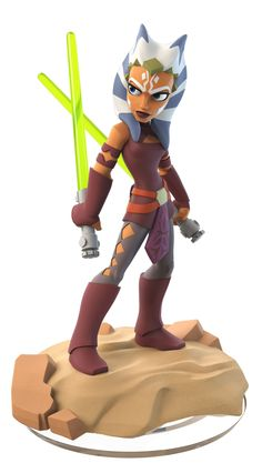 'Star Wars Rebels' join Disney Infinity 3.0 I have her, and got her on the highest lvl ( lvl 20 ) the first day I got her. lol