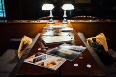 Books on display for the customer meet- up #BlurbRoadshow