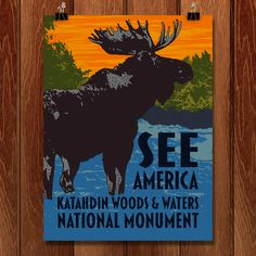 Katahdin Woods & Waters National Monument by Mark Forton for See America - 1