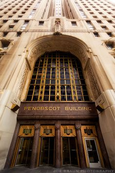 Detroit's historic and beautiful Penobscot Building. (Photo credit: Joe Braun Photography, copyright 2011).