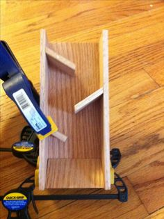 Making a Wooden Dice Tower