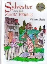 Sylvester and the Magic Pebble Weekly Reader Editors Choice by William Steig, http://www.amazon.com/dp/B000LGK5QC/ref=cm_sw_r_pi_dp_Vonorb1M8VFFF