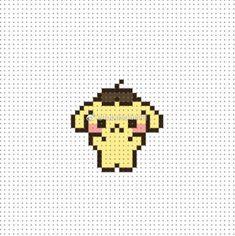 Kawaii Cross Stitch, Tiny Cross Stitch, Cross Stitch Cards, Beaded Cross Stitch, Cross Stitching, Pokemon Perler Beads, Diy Perler Beads, Perler Bead Art, Fuse Bead Patterns