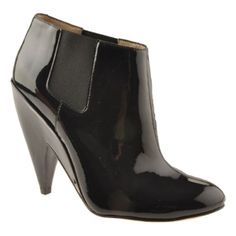 SALE - Womens Joan & David Ebby Cone Heels Black - $144.95 ONLY. Was $260.00 - You SAVE $115.00.