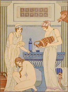 Femmes_timides_se_baignant_par_Kuhn_Regnier_(1920s).jpg 338×458 pixels