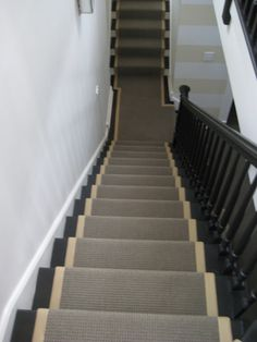 runners for open tread stair - Google Search