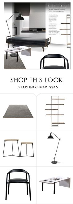 """""""The simple way"""" by laste-co ❤ liked on Polyvore featuring interior, interiors, interior design, home, home decor, interior decorating, &Tradition and Trilogy"""