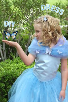 DIY Cinderella Ball Gown Dress!