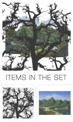 """""""Nature Ish"""" by zille ❤ liked on Polyvore featuring art"""