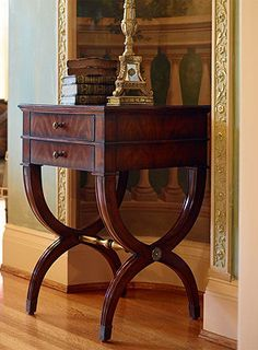 I like the style of the legs on this side table
