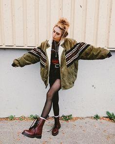 Clothes grunge alternative fashion 40 Ideas for 2019 Grunge Winter Outfits, Winter Outfits For Teen Girls, Outfits Casual, Mode Outfits, Winter Grunge, Fashion Outfits, Fashion Fashion, Fashion Clothes, Style Clothes