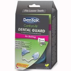 Comfort-Fit Dental Guard | DenTek Oral Care dental materi, teeth grinding, health resourc, comfortfit dental, oral care, dental guard