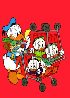 Donald Duck - cover illustration from Walt Disney's Comics and Stories by Carl Barks [W WDC 253-00]