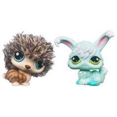 Littlest Pet Shop Cutest Pets Figures Soft Porcupine Angora Bunny