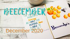Bees deserve some urgent attention and care. Here's my simple attempt to spread a bit of awareness about bees the whole month of December through my bujo logs E Journals, Monthly Themes, Logs, Bujo, December, Bullet Journal, How To Plan, Simple, Magazines