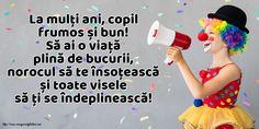 La mulți ani, copil frumos și bun! Love My Family, Happy, Unicorn, Birthdays, Photos, Anniversaries, Ser Feliz, Birthday, Unicorns