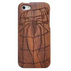Spider man fans need this wood case