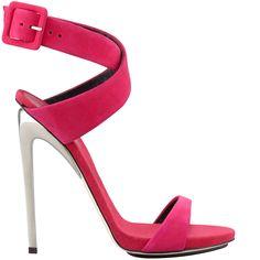 Giuseppe Zanotti cross-strap sandal   5″ heel   buy online for $650