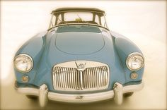 Vintage 1957 MGA Fine Art Photography by TheLoveWeMake on Etsy, $20.00