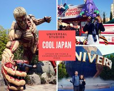 Cool Japan at Universal Studios Japan Universal Studio Osaka, Universal Parks, Universal Studios Japan, Stuff To Do, Things To Do, Geek Things, Harry Potter Experience, Parc A Theme, Park Around