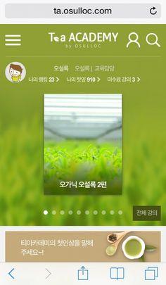 오설록, 티소믈리에 교육용 모바일웹 '티아카데미' 오픈
