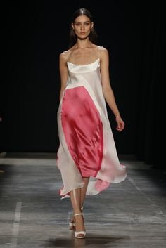 Narciso Rodriguez RTW Spring 2013 - channeling the minimal glory days + Carolyn Bessette. Love it.