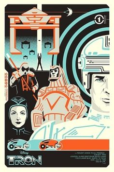 tron poster! OMG