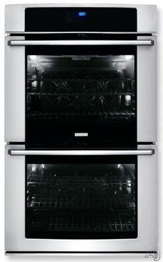 "Electrolux EW30EW65PS 30"" Double Wall Oven with 9.6 cu. ft. Capacity, 7 Cooking Modes, 10 Baking Options, Wave-Touch Controls, Fresh Clean Technology, Luxury-Design Lighting and Star K Certified"