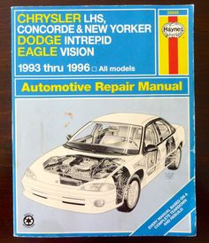 Dodge neon dodge pinterest neon cars and vehicle vintage haynes repair manual 25025 chrysler lhs concorde new yorker dodge intrepid fandeluxe Choice Image