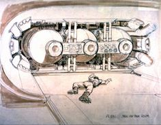 Ron Cobbs Alien concept art