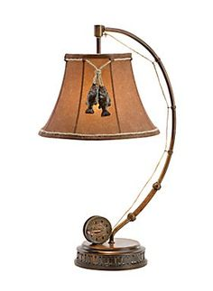 Fly fishing pole floor lamp and shade rustic cabin lodge decor vintage verandah the catch of the day table lamp bass pro 8999 fishing nurseryfishing polesfly aloadofball Gallery