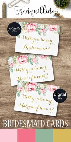 Free printable will you be my bridesmaid card maids wedding and will you be my bridesmaid maid of honor card matron of honor flower girl printable bridesmaid proposal boho pink floral bridesmaid card spiritdancerdesigns Images