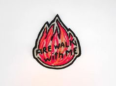 Twin Peaks Patch Hand embroidery Patch Embroidered Patch