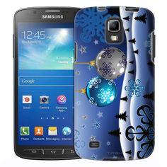 Samsung Galaxy S4 Active Mystical Snowy Ornaments Trans Case