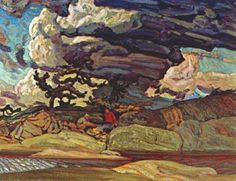 Macdonald The Elements, Canadian Group of Seven Group Of Seven Artists, Group Of Seven Paintings, Canadian Painters, Canadian Artists, Landscape Art, Landscape Paintings, Contemporary Landscape, Oil Paintings, Emily Carr Paintings