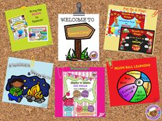 Speech Room Style: Creative Speech Camp…In Your Speech Room! Fun ideas and activities perfect for summer learning! Pinned by SOS Inc. Resources. Follow all our boards at pinterest.com/sostherapy/ for therapy resources.