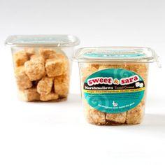 Sweet & Sara - Toasted Coconut Vegan Marshmallows #vegan