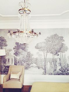 www.thisisglamorous.com | Décor Inspiration : Toile  de Gournay by {this is glamorous}, via Flickr