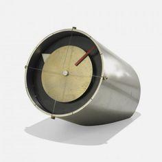 Table Clock, Model 2270, Howard Miller Clock Company, 1959