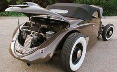 Image from http://www.carpictures.com/pics/full/07HND004125674E/Volkswagen-Beetle-Heb-Rod-Kustom-1957-07HND004125674E.jpeg. Custom Vw Bug, Custom Cars, Vw Beetles, Kustom, Car Stuff, Motor Car, Motors, Volkswagen, Vintage Cars