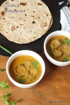If you happened to get a immature, sweet ridge gourd, then try this stuffed ridge gourd which is absolutely tasty with chapati and jolada rotti.