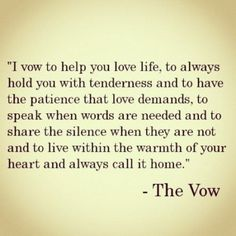 I vow to cherish, love, understand, listen, respect, and love you forever...❤️