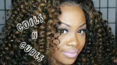 HOW TO GET CURLY COILS WITH HER HAIR COMPANY BRAZILIAN CURLY