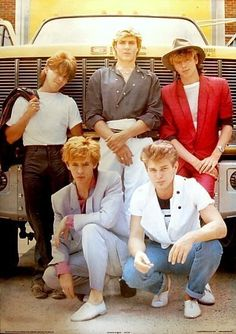 Duran Duran I LOVED them in high school!!