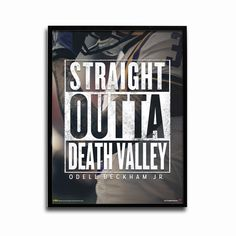 LSU Tigers Straight Outta Death Valley Poster designed by TSS artist, Mario Carlos. Poster measures approx. 24x18. Ships in durable tube.