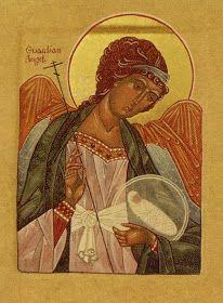 Orthodox Christian Guardian Angel icon